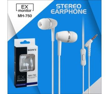 EX Monitor MH 750 Stereo Earphone