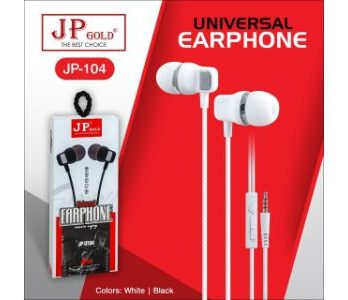 JP Gold 104 Universal Earphone