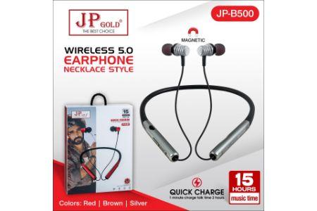 JP Gold B500 Wireless 5.0 Earphone Necklace Style