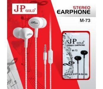 JP Gold M-73 Stereo Earphone