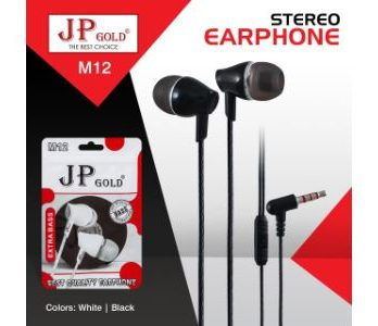 JP Gold M12 Stereo Earphone