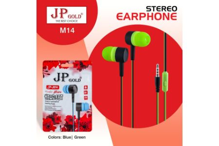JP Gold M14 Stereo Headphone
