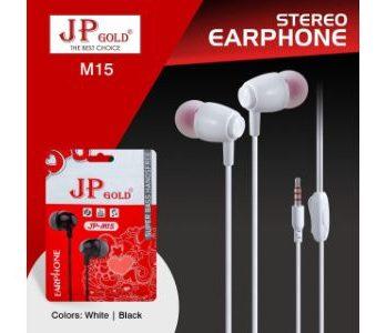 JP Gold M15 Stereo Earphone