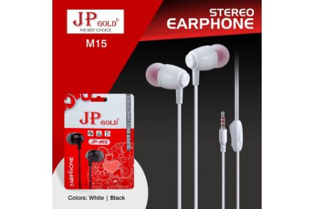 JP Gold M15 Stereo Earphone