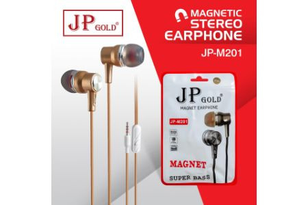 JP Gold M201 Magnetic Stereo Earphone