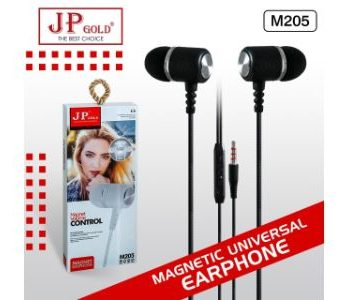 JP Gold M205 Magnetic Universal Earphone
