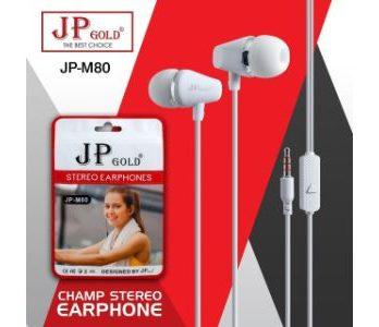 JP Gold M80 Champ Stereo Earphone