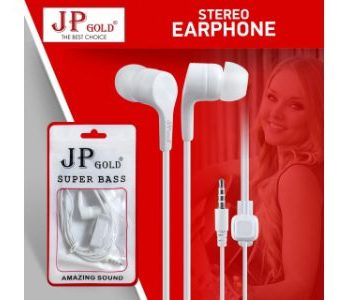JP Gold SuperBass Stereo Earphone
