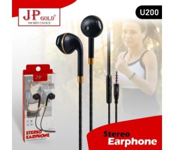 JP Gold U200 Stereo Earphone
