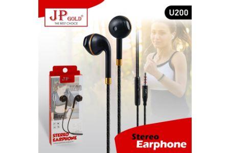 JP Gold U200 Stereo Earphone