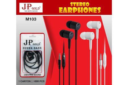 JP Gold M-103 Superbass Stereo Earphone