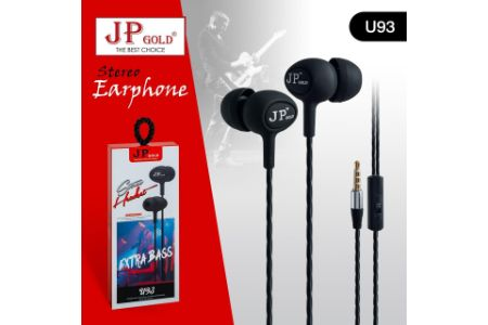 JP Gold Stereo Earphone