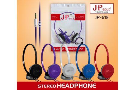 JP Gold Stereo Headphone