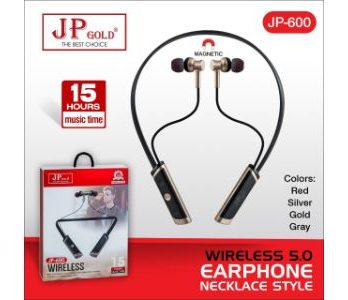 Jp Gold 600 Wireless 5.0 Earphone Necklace Style