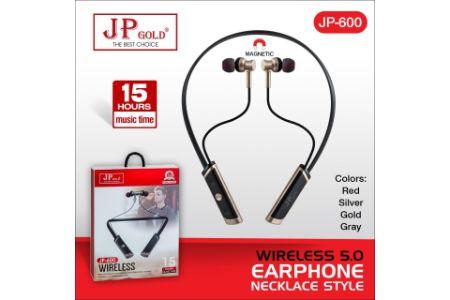Jp Gold 600 Wireless 5.0 Earphone Necklace Style
