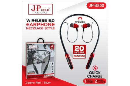 Jp-Gold-B800-Wireless-5.0-Earphone-Necklace-Style