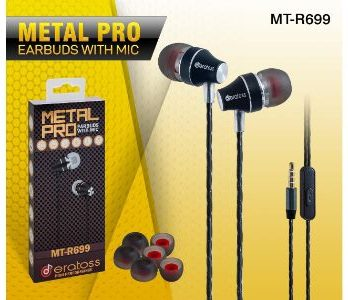 MT R699 Metal Pro Earbuds with MIC