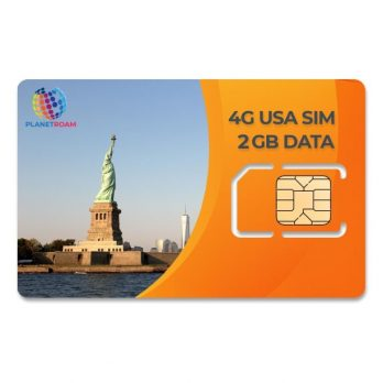 USA Tourist SIM Card from India