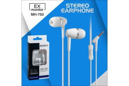 EX Monitor MH 750 Stereo Earphone