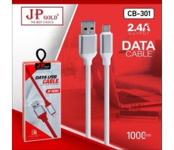 JP Gold CB-301 2.4A Output-Data Cable
