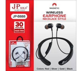 JP Gold JP-B888 Wireless Magnetic Earphone Neckplace Style