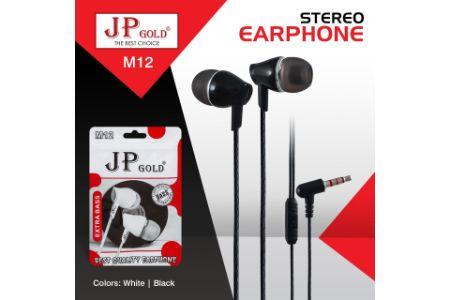 JP Gold M12 Stereo Earphone