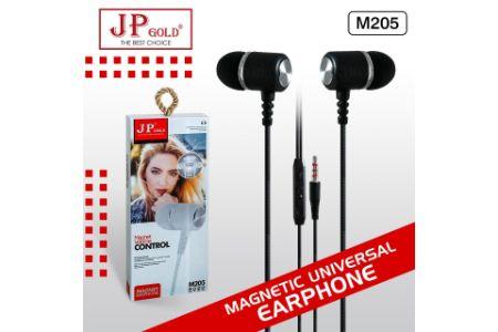 JP Gold M205 Magnetic Universal Earphone