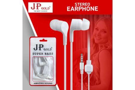 JP Gold SuperBass Stereo Earphone