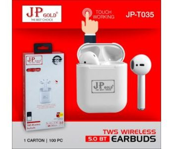 JP Gold T 0345 TWS Wireless Ear Buds
