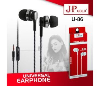 JP Gold U86 Universal Earphone