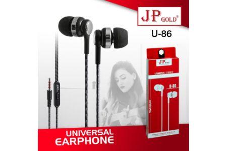 JP Gold U86 Universal Earphone