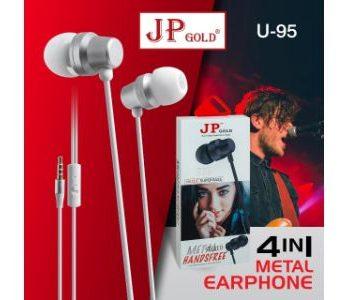 JP-Gold U-95 4in1 Metal Earphone