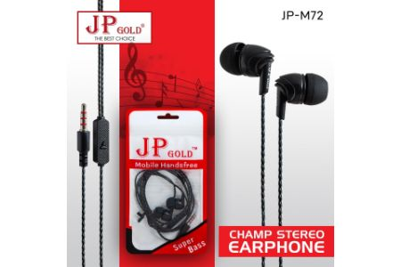 JP Gold M-72 Champ Stereo Earphone