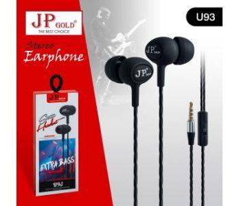 JP Gold Stereo Earphone